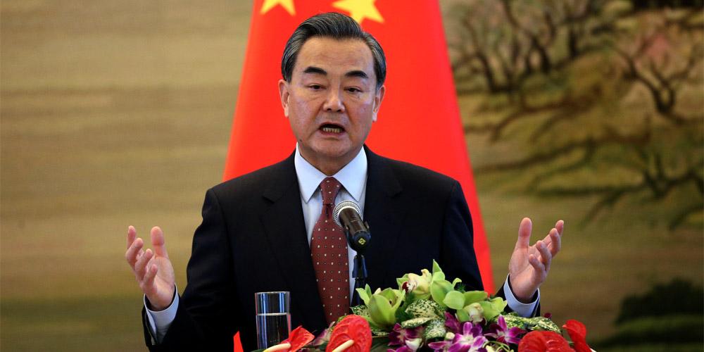 Chinese FM Wang Yi