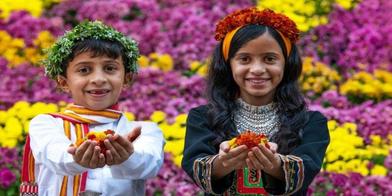Flowerman festival in Saudi Arabia celebrates tradition