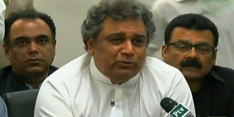 Ali Zaidi on clean karachi campaign