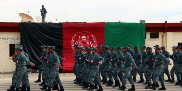 Afghan policeman kills seven