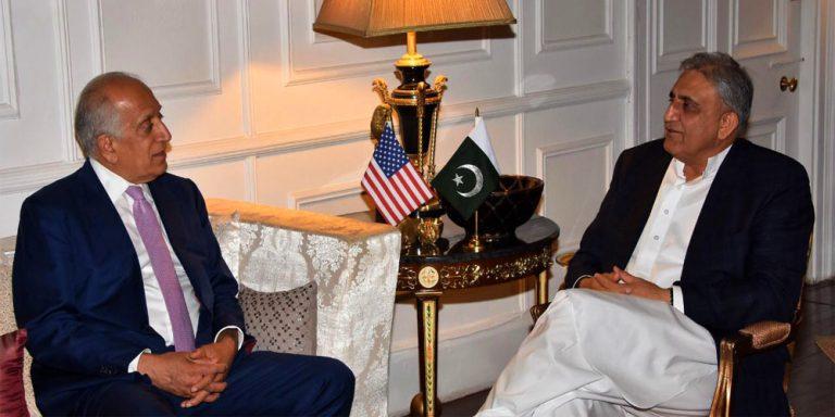 Chief of Army Staff meets Zalmay Khalilzad