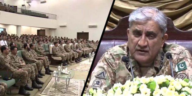 Gen Bajwa visits Gujranwala corps