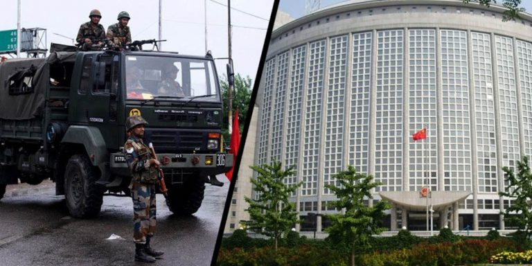 China is seriously concerned about the current situation in Kashmir