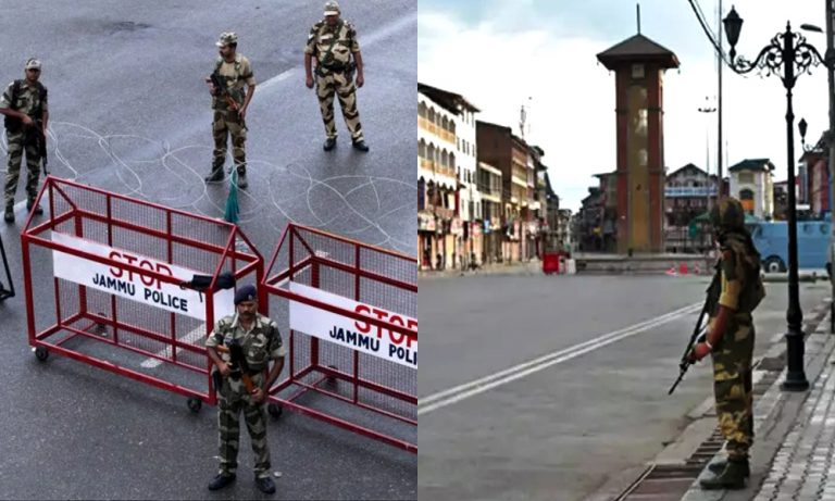 Curfew enters the 24th day in Kashmir
