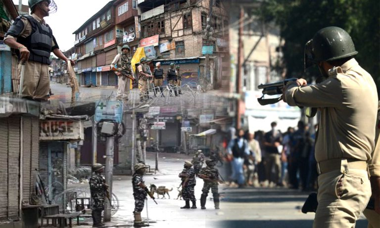 Curfew enters the 25th Day in Kashmir valley