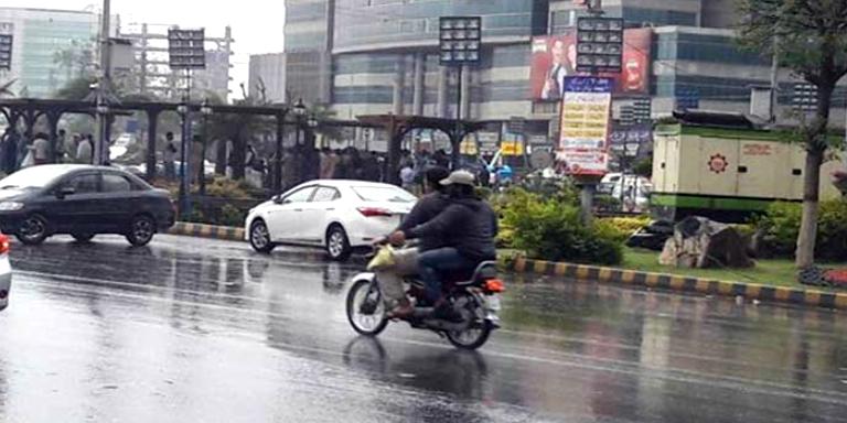 Karachi light rain