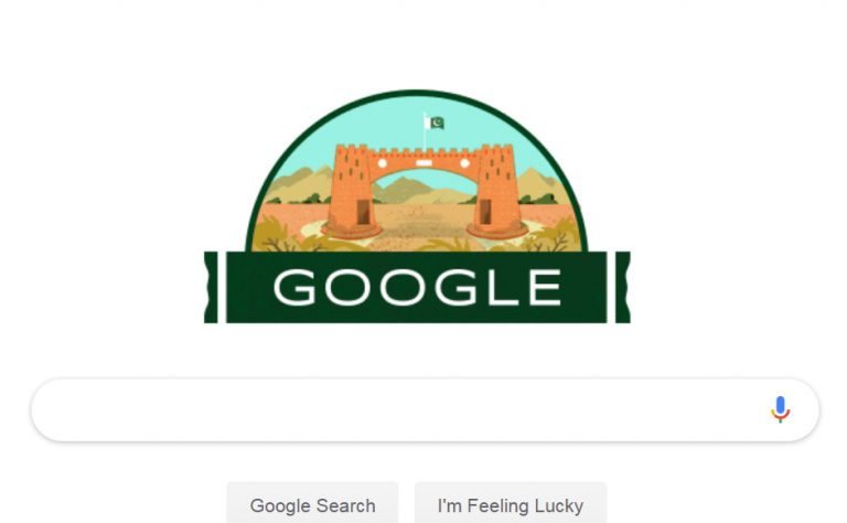 Google marks Independence with doodle