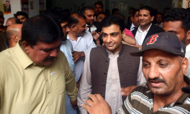 Hamza Shahbaz's physical remand extends for 14 days