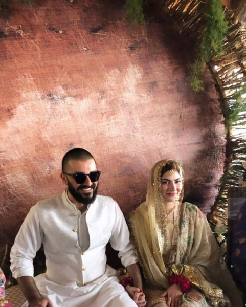 Hamza Ali Abbasi weds Naimal Khawar