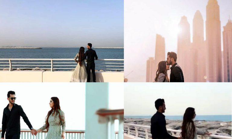 Hassan Ali's pre wedding shoot in Dubai