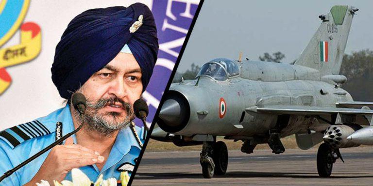 IAF chief laments Modi