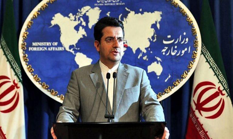 Iran responds on Kashmir