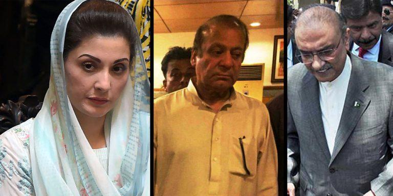 Leaders of parties in jail