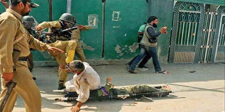 Indian forces martyred Kashmiri