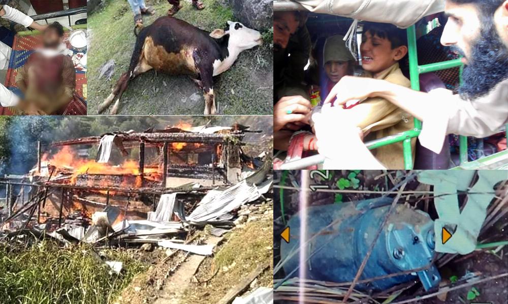 LOC violation: India uses cluster ammunition along the border