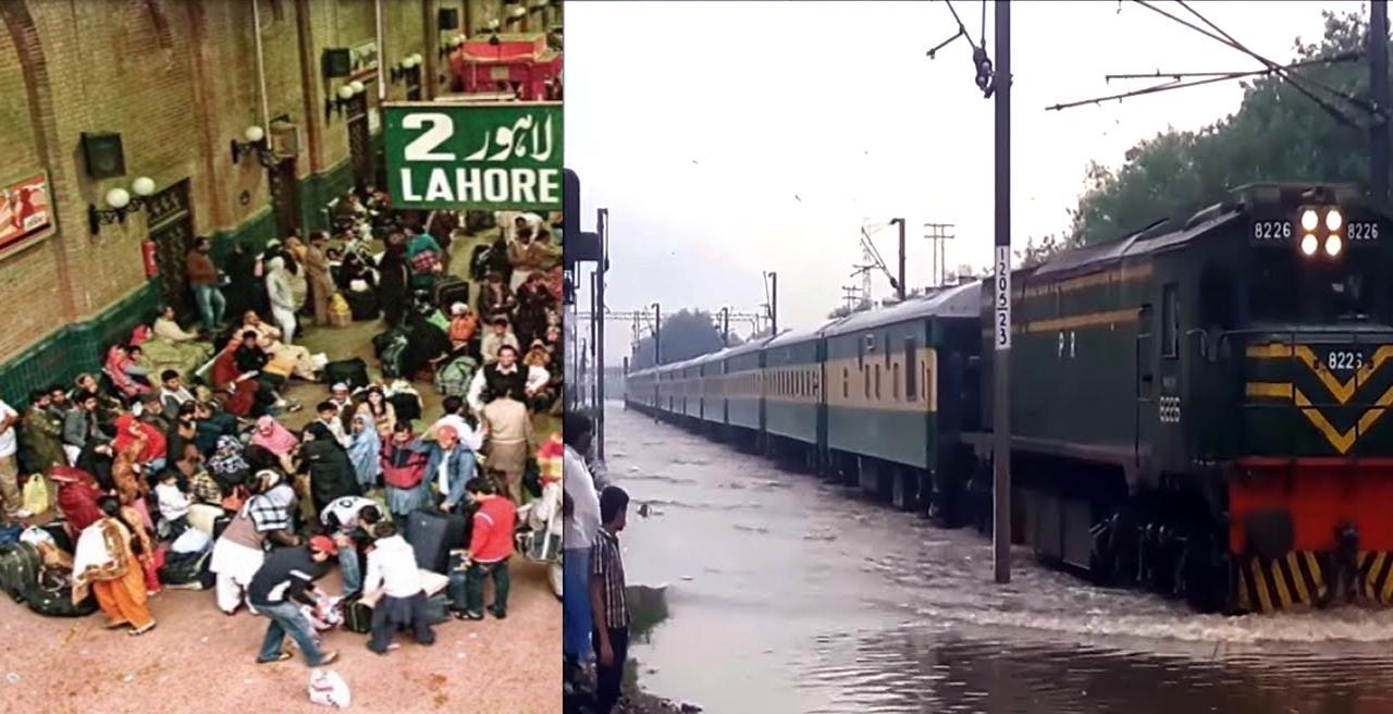 Train service effected due to heavy Rain