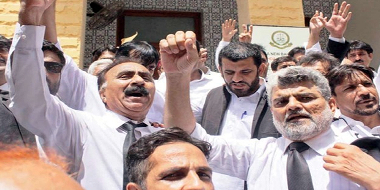 Lawyers strike observed on August 26