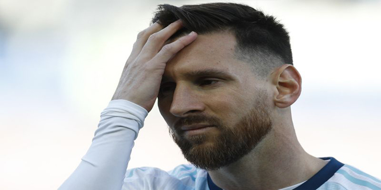 Messi banned for three months