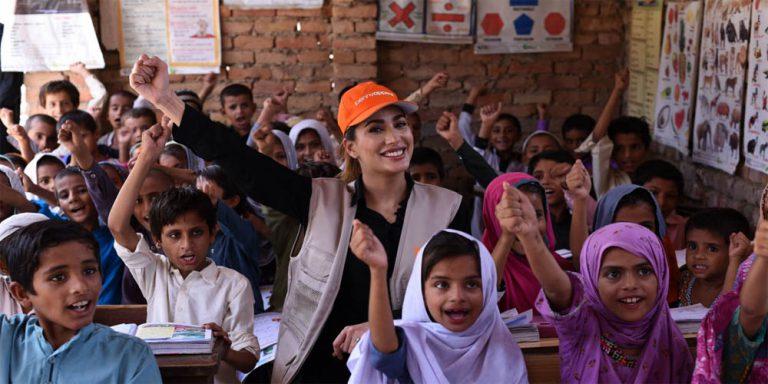 Mehwish Hayat to educate hundreds of children