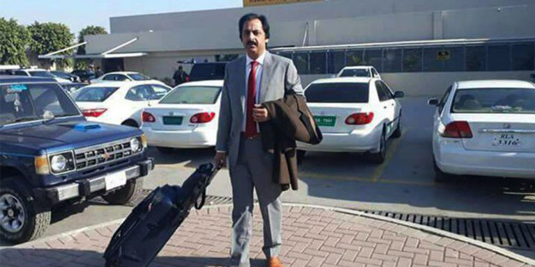Muzaffar Abbasi firing incident