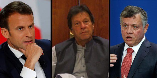 Imran Khan calls international leaders