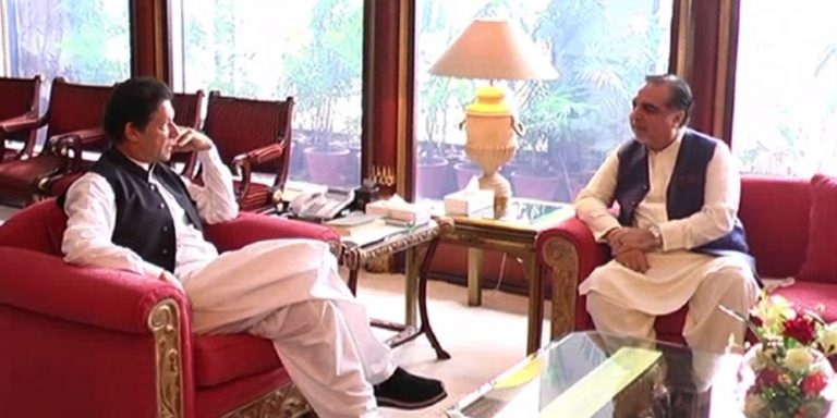 Prime Minister meets governor Sindh to discuss situations in Sindh after rains