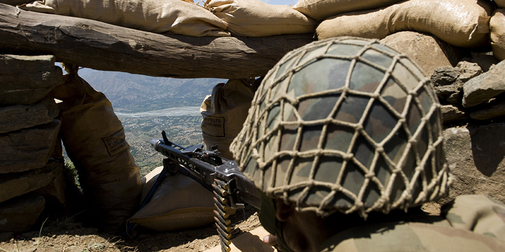 three soldiers martyred LOC