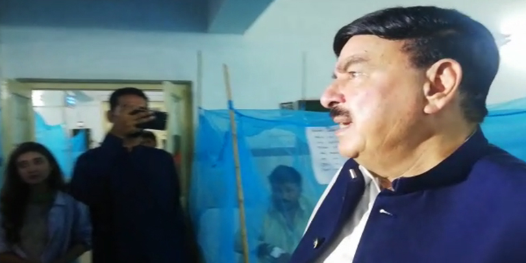 Sheikh Rasheed's media briefing in Rawalpindi