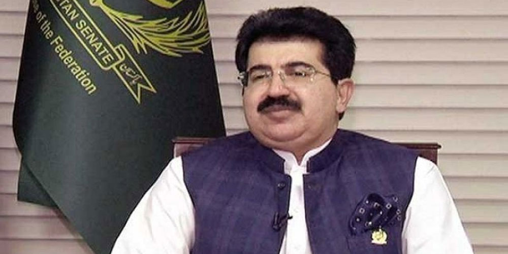 Chairman Senate To Represent Pakistan At Swearing-In Ceremony Of New President