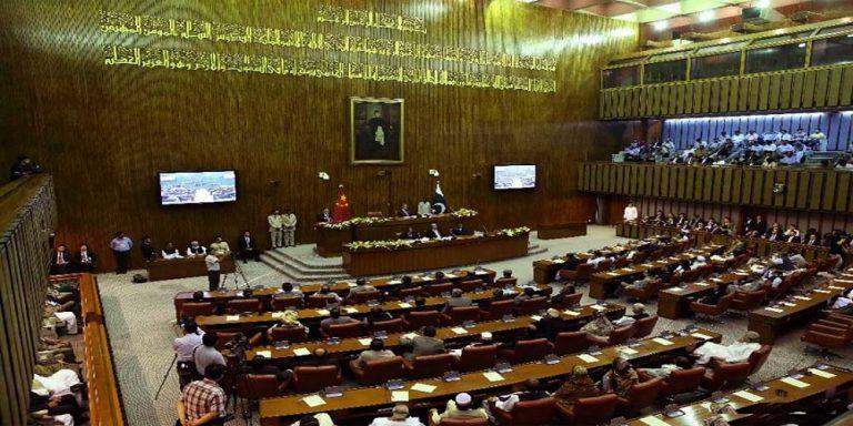 Chairman senate on Kashmir