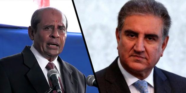 Shah Mahmood calls Sri Lankan foreign minister