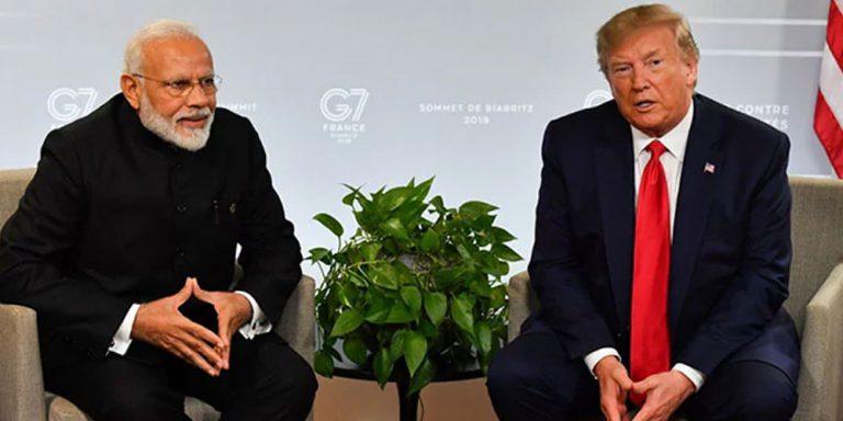 Trump meets Modi at G-7 summit
