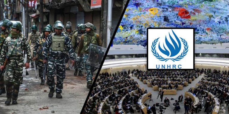 Lockdown in Kashmir human rights UNHRC