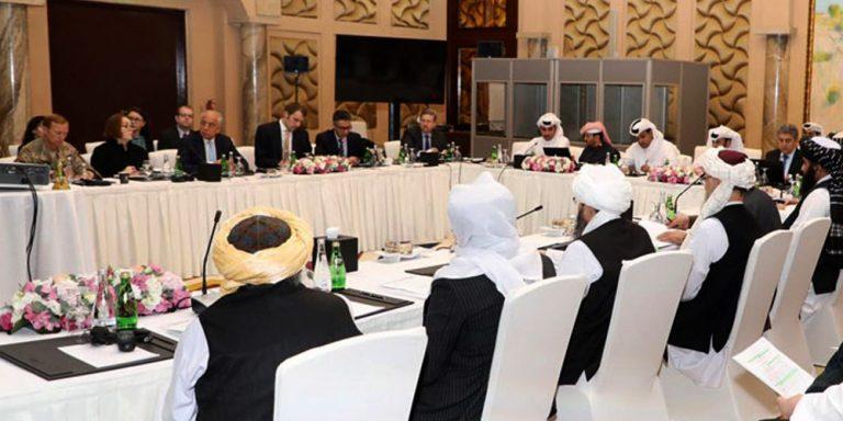 Taliban US peace talks