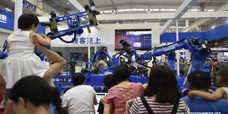 5th annual robotic exhibition in Beijing