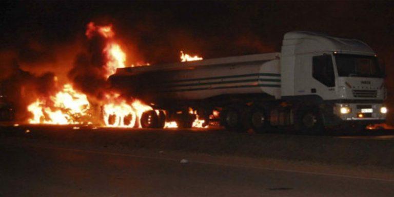 Uganda oil tanker explosion