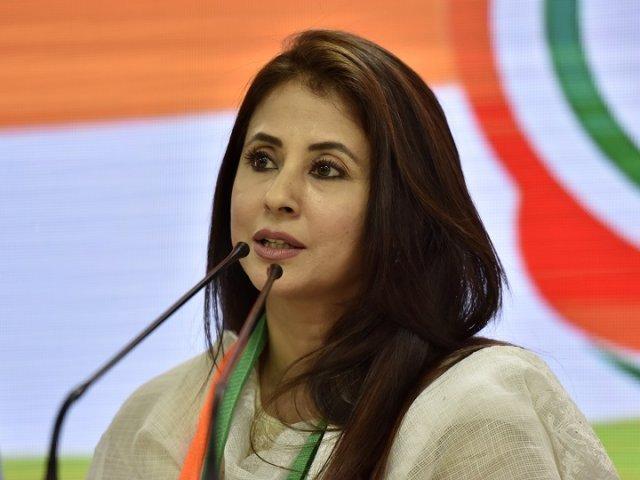 Urmila slams the Kashmir situation