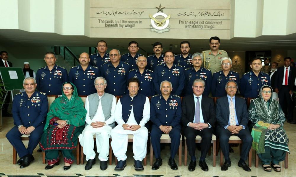PM visits Air Headquarters