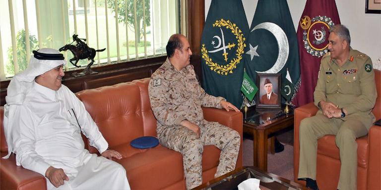 COAS meets Saudi military adviser