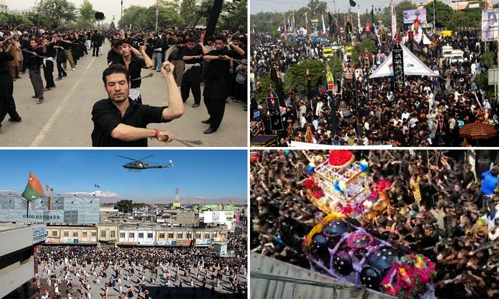 9th moharram processions