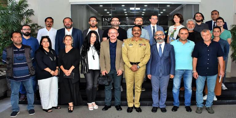 Turkish journalists' group visits ISPR
