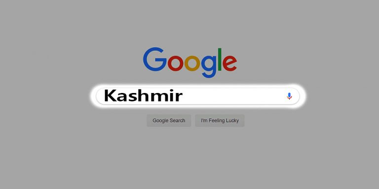 Kashmir is the most searched word on Google
