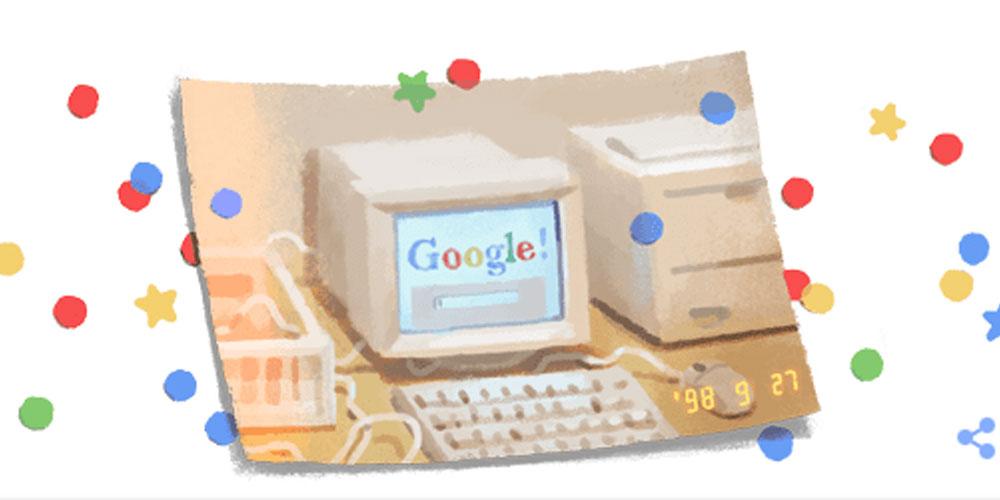 google 21 birthday