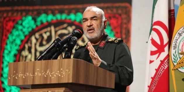 The chief of Iran's elite Islamic Revolutionary Guard Corps (IRGC)