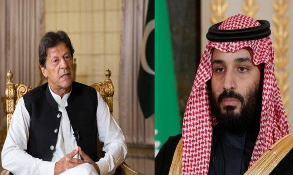 Imran Khan calls Saudi Wali Ahad