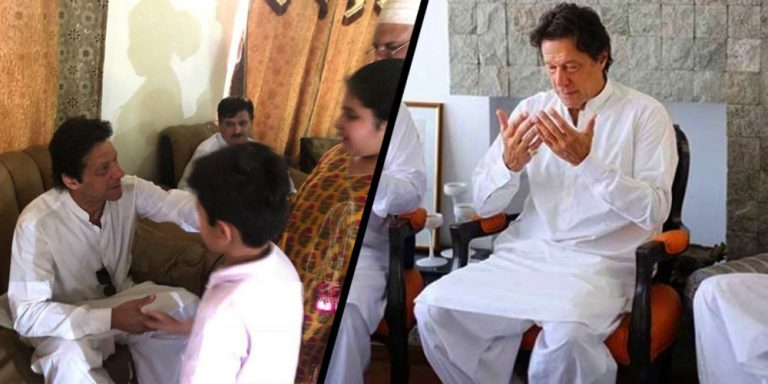 Prime Minister Imran Khan will spend Defense Day with martyr families