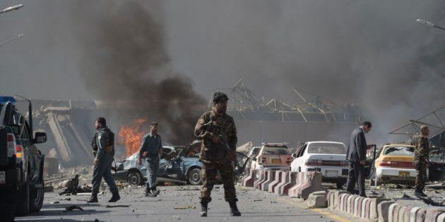 Blast in Afghan capital Kabul