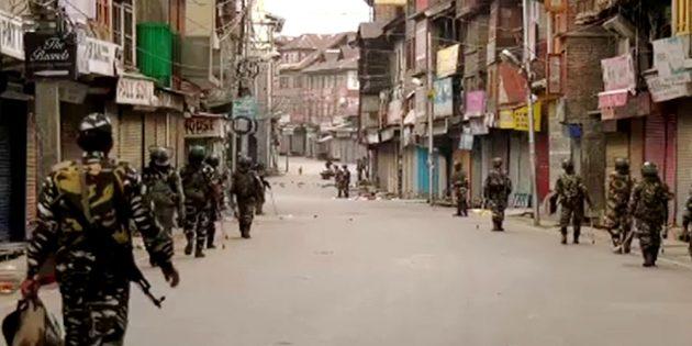 occupied Kashmir curfew iok consecutive