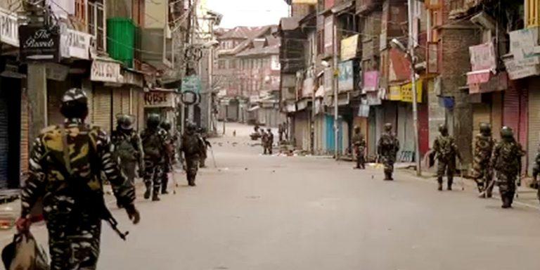 Curfew in Indian Occupied Kashmir