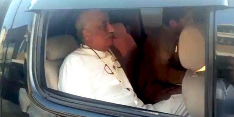 Khursheed Shah's arrest